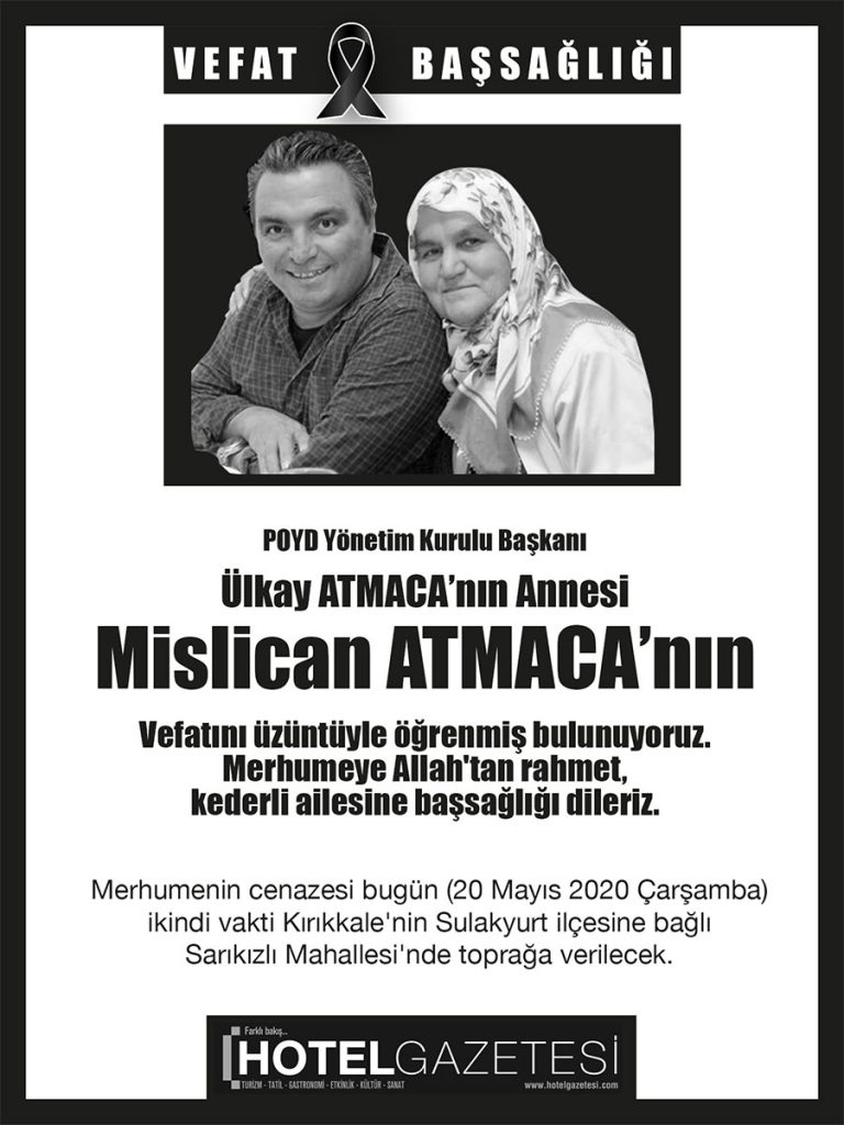 POYD Başkanı Atmaca'nın Acı Günü