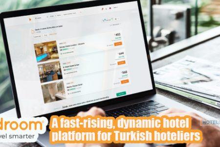 bidroom.com travel smarter, A fast-rising, dynamic hotel platform for Turkish hoteliers