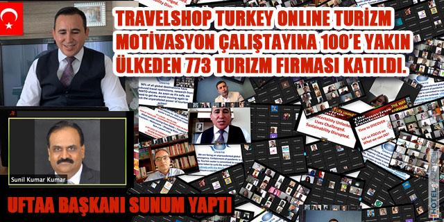 TravelShop Turkey'den Online Turizm Motivasyon Çalıştayı