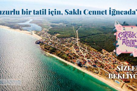 Huzurlu bir tatil için, Saklı Cennet İğneada'da Çiçekli Apart Pansiyon Sizleri Bekliyor