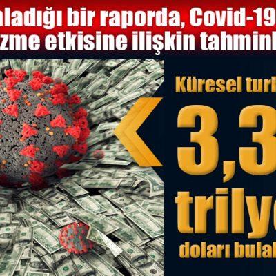 Covid-19 nedeniyle küresel turizmin kaybı 3.3 trilyon doları bulabilir