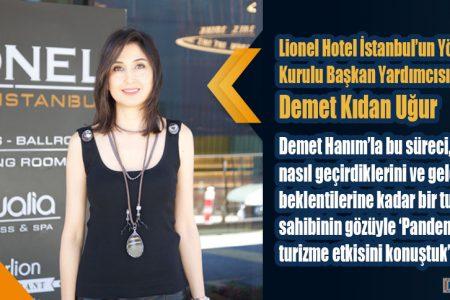 LİONEL HOTEL İSTANBUL YENİ NORMALE HAZIR