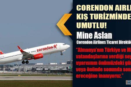 CORENDON AIRLINES KIŞ TURİZMİNDEN UMUTLU!