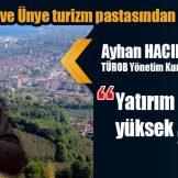 Hacıbektaşoğlu, ilin konaklama sektörü yatırımları için de ciddi bir potansiyel barındırdığını ifade etti.