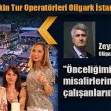 Rusya, Ukrayna, Kazakistan ve Özbekistan gibi birçok ülkeden İstanbul'a gelen Turizm Profesyonelleri Boğaza nazır Oligark İstanbul'da doyasıya eğlendiler.