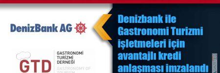 GASTRONOMİ TURİZMİ DERNEĞİ'NDEN ÜYELERİNE BÜYÜK FIRSAT