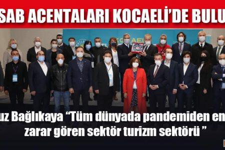TÜRSAB ACENTALARI KOCAELİ'DE BULUŞTU