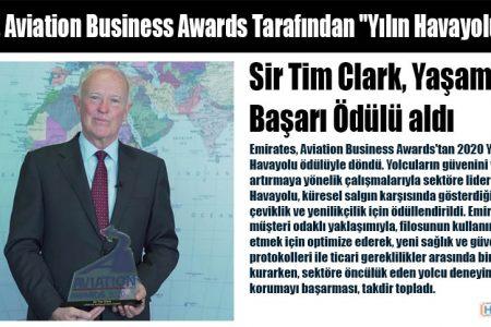 """Emirates, Aviation Business Awards Tarafından """"Yılın Havayolu"""" Seçildi"""