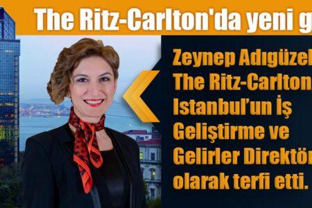 The Ritz-Carlton, Istanbul İş Geliştirme ve Gelirler Direktörlüğü'ne Yeni Bir İsim