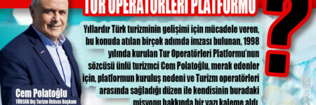TUR OPERATÖRLERİ PLATFORMU
