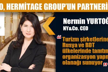 NY&CO, HERMİTAGE GROUP'UN PARTNERİ OLDU