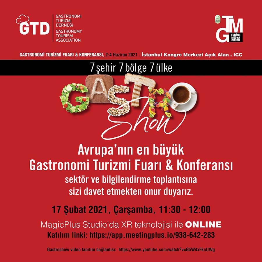 Avrupa'nın en büyük Gastronomi Turizmi Fuarı & Konferansı için geri sayım başladı!