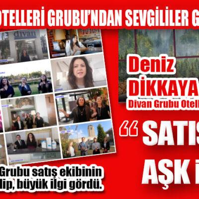 DİVAN OTELLERİ GRUBU'NDAN SEVGİLİLER GÜNÜ'NE ÖZEL KLİP