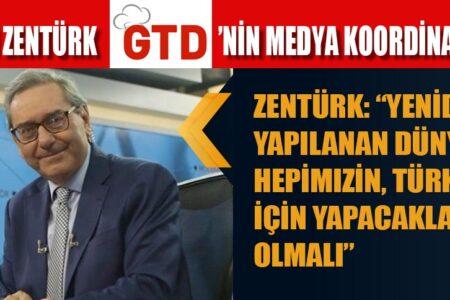ARDAN ZENTÜRK GTD'NİN MEDYA KOORDİNATÖRÜ