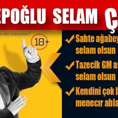 Emir Hepoğlu Selam ÇAKTI!