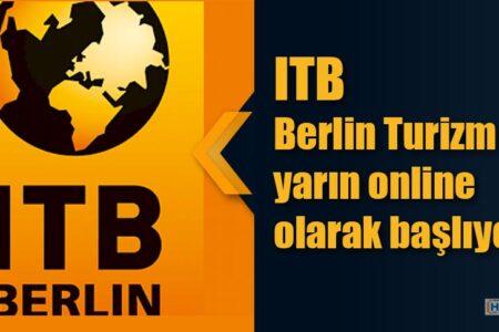 Berlin Turizm Fuarı yarın online olarak başlıyor