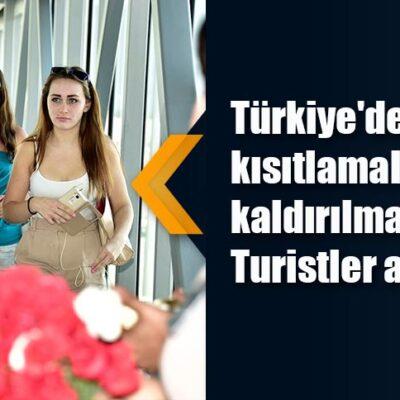 Türkiye'deki kısıtlamaların kısmen kaldırılmasıyla Rus Turistler artışa geçti