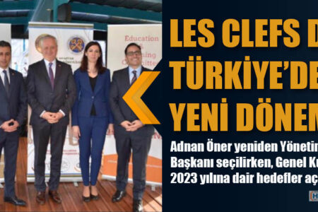 LES CLEFS D'OR TÜRKİYE'DE YENİ DÖNEM