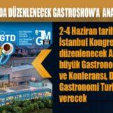 İZMİR BÜYÜKŞEHİR BELEDİYESİ İSTANBUL'DA DÜZENLENECEK GASTROSHOW'A ANA SPONSOR OLACAK