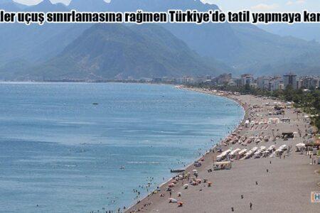 Rus turistler uçuş sınırlamasına rağmen Türkiye'de tatil yapmaya kararlı