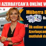 TÜROB'DAN AZERBAYCAN'A ONLİNE WORKSHOP
