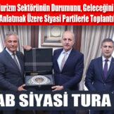 TÜRSAB SİYASİ TURA ÇIKTI!